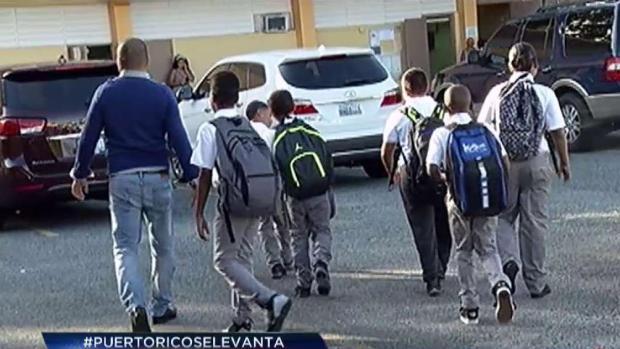 [TLMD - PR] Este lunes reabrirán otras 119 escuelas