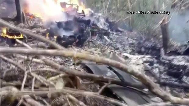 Accidente fatal de avioneta en Costa Rica