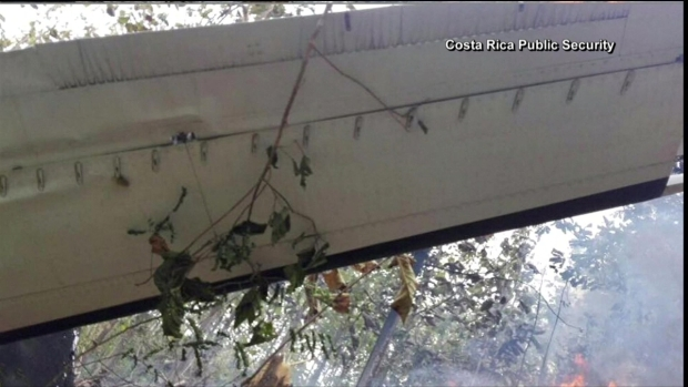 Más imágenes del accidente mortal en Costa Rica