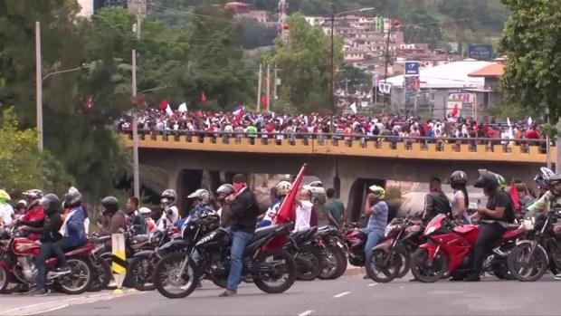 [TLMD - MIA] Protestas en Honduras