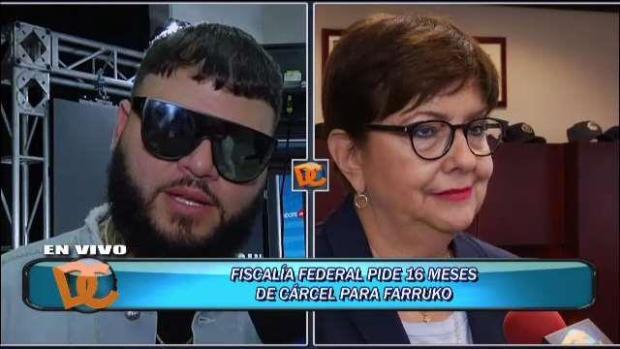 [TLMD - PR] Federales piden 16 meses de prisión para Farruko
