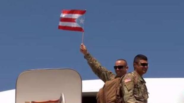 [TLMD - PR] Guardia Nacional se despide de Vieques y Culebra