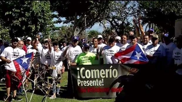 [TLMD - PR] Galleros se reúnen para manifestarse en el Capitolio