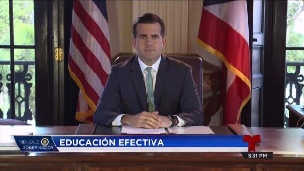 [TLMD - PR] Gobernador anuncia Reforma de Educación