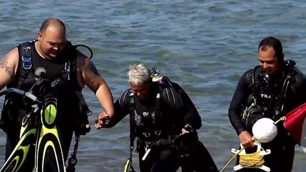 [TLMD - PR] Hija del Mar: Mujer mantiene viva su pasión de bucear a sus 65 años