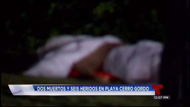 [TLMD - PR] Identifican ahogados en playa de Cerro Gordo