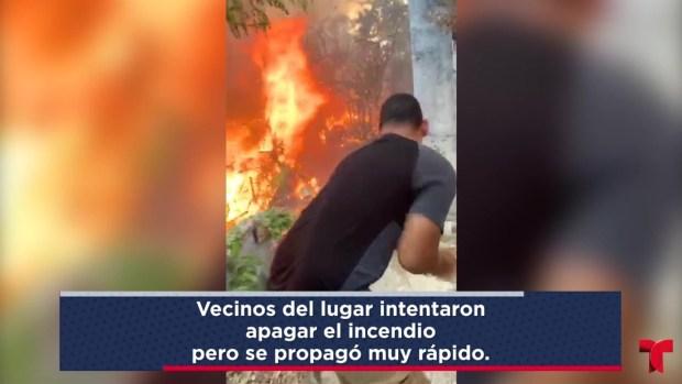[TLMD - PR] Incendio consume residencias en Ponce