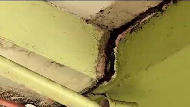 Inspeccionan daños que provocó el temblor