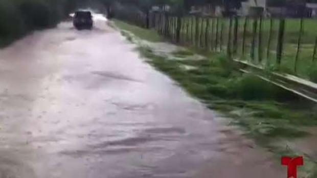 [TLMD - PR] Intensas lluvias provocan serias inundaciones en Lajas