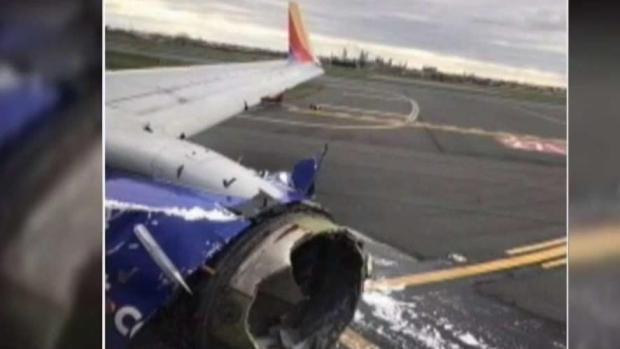 Investigan espeluznante explosión en avión