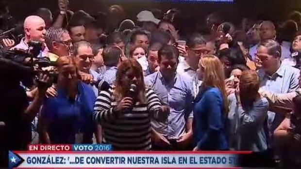 [TLMD - PR] Jenniffer González celebra su triunfo