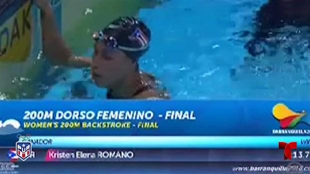 [TLMD - PR] Kristen Romano se lleva el oro en Natación