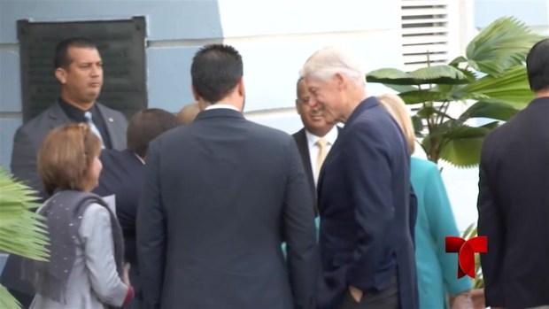 [TLMD - PR] Los Clinton se reúnen con Rosselló en la Fortaleza