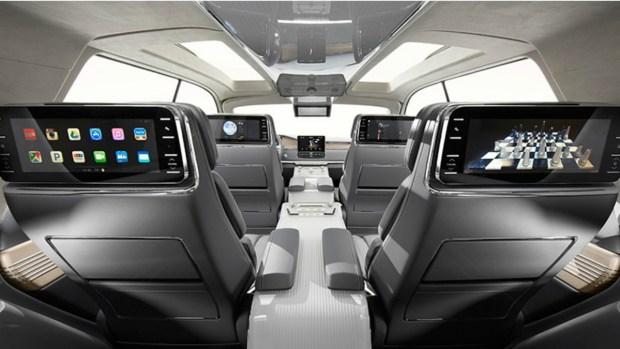 Lincoln Navigator Concept, el auto inspirado en un yate