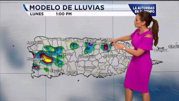 [TLMD - PR] Lluvias para este lunes tras paso de onda tropical