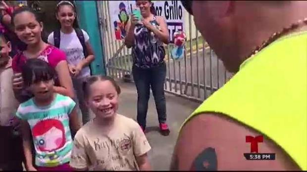 [TLMD - PR] Los niños inyectan fortaleza y esperanza a Raymond