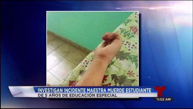 [TLMD - PR] Maestra que mordió niño alega defensa propia