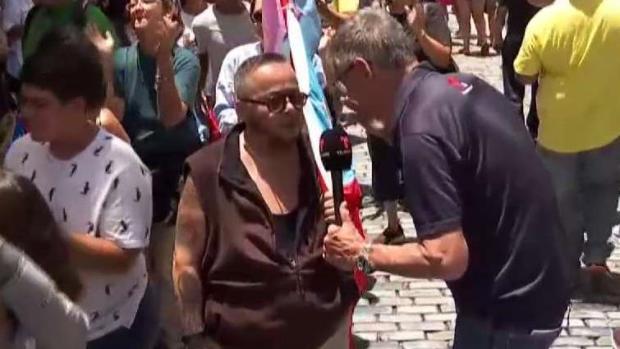 [TLMD - PR] Marchan hacia La Fortaleza para pedir renuncia de Rosselló