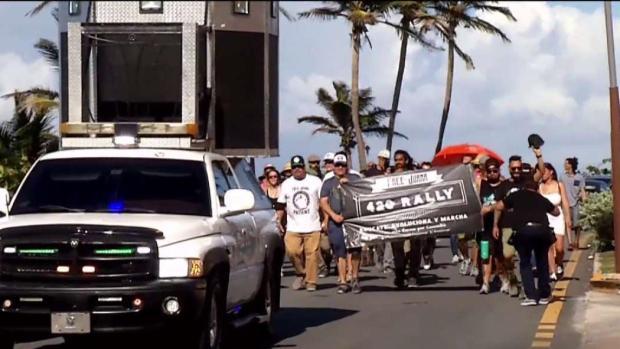 [TLMD - PR] Marchan por la discriminalización de la marihuana