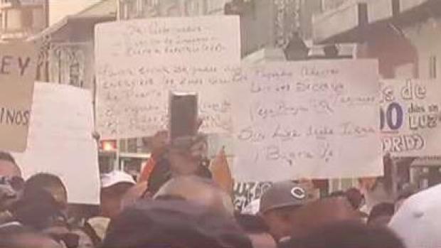 [TLMD - PR] Marchan y piden luz los alcaldes en Fortaleza