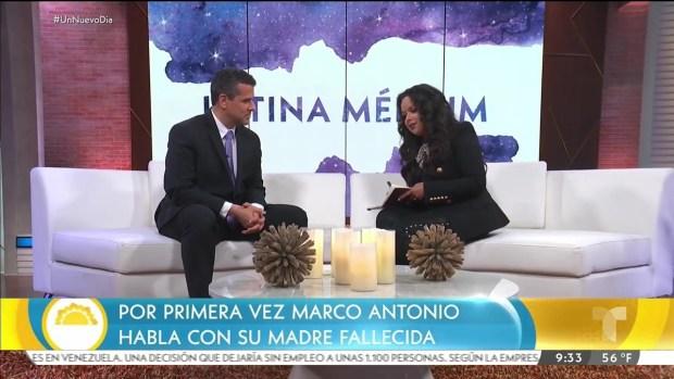 [TLMD - LV] Marco Antonio Regil contacta a su madre