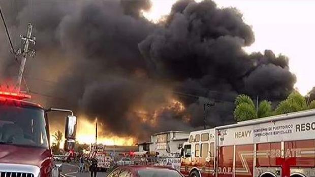 [TLMD - PR] Miles en pérdida por incendio en Bayamón
