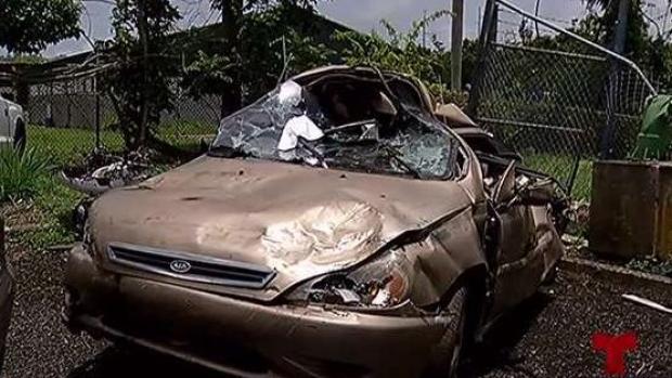 [TLMD - PR] Un misterio el hallazgo de cuerpo en auto en Naguabo
