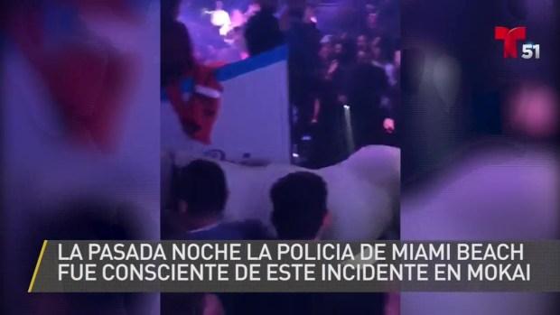 [TLMD - MIA] Mujer monta a caballo dentro de club en Miami Beach