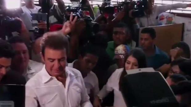 Nasralla se perfila como ganador en Honduras