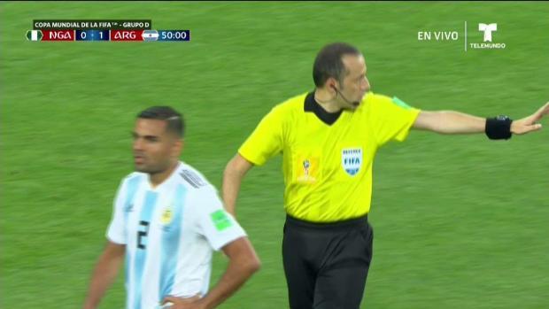 ¡Gol! Nigeria empata con Argentina