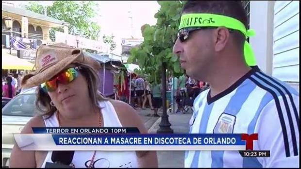 [TLMD - PR] Participantes de parada gay reaccionan al triste evento