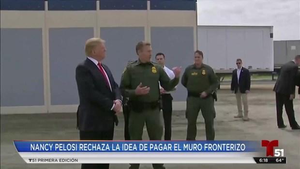 [TLMD - LV] Pelosi rechaza al muro a cambio de ayudar a dreamers