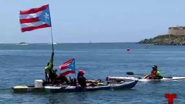 [TLMD - PR] Piden la renuncia del gobernador desde el agua