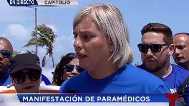 [TLMD - PR] Paramédicos protestan por falta de personal