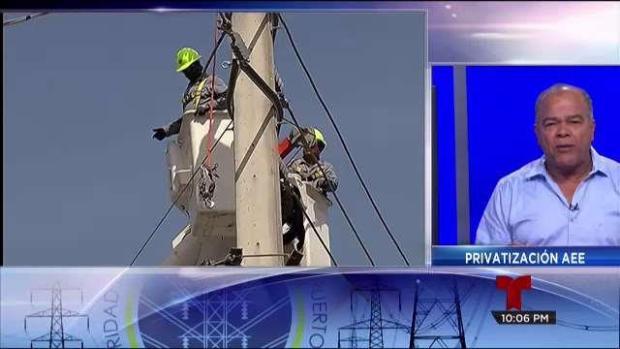 Privatización AEE: ''Es una desgracia para Puerto Rico''