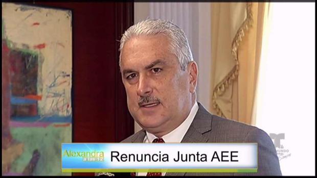 [TLMD - PR] Renuncia la Junta de Gobierno de la AEE