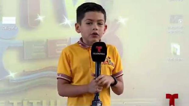 Reportero por excelencia del tercer grado
