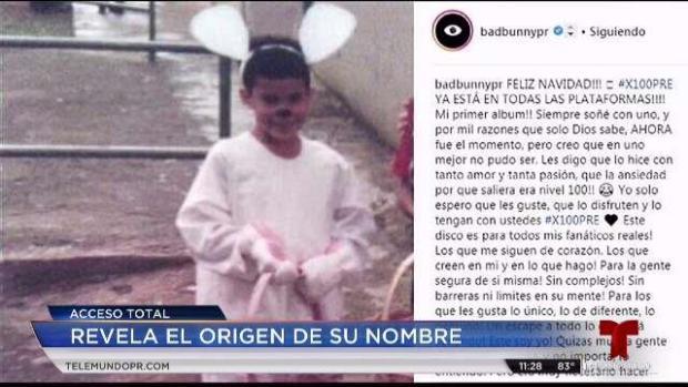 [TLMD - PR] Bad Bunny revela el origen de su nombre