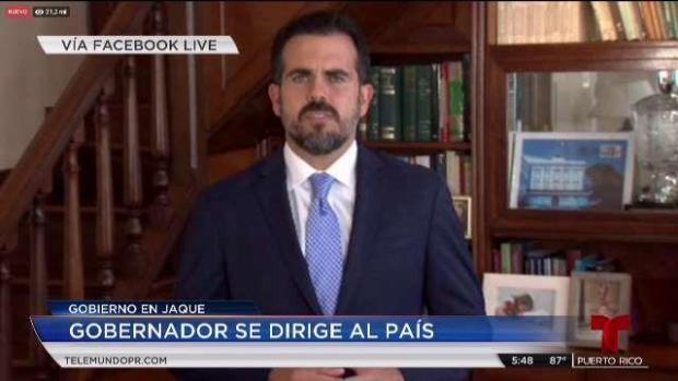 [TLMD - PR] Ricardo Rosselló insiste en quedarse en su silla