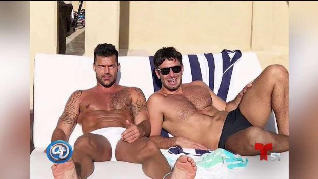 [TLMD - MIA] Las candentes fotos del cumpleaños 46 de Ricky Martin