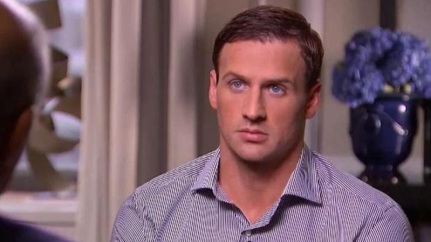 [TLMD - MIA] Ryan Lochte mintió sobre robo en Brasil