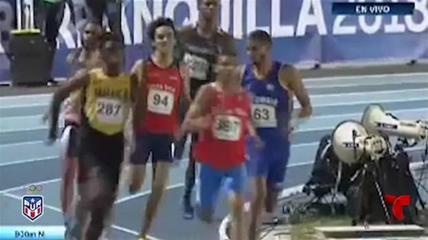 [TLMD - PR] Ryan Sánchez gana en los 800m
