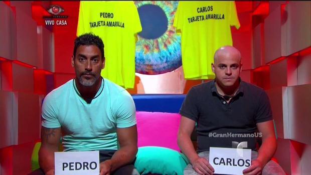 """[TLMD - MIA] Sanción contra Pedro y Carlos en """"Gran Hermano"""""""