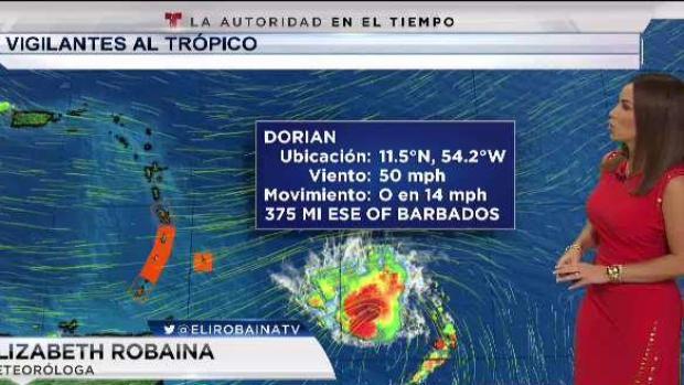 [TLMD - PR] Se intensifica la tormenta tropical Dorian