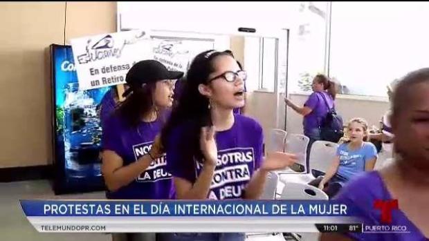 [TLMD - PR] Se manifiestan en el Día Internacional de la Mujer