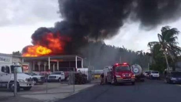 [TLMD - PR] Se registra fuego de grandes proporciones en Bayamón