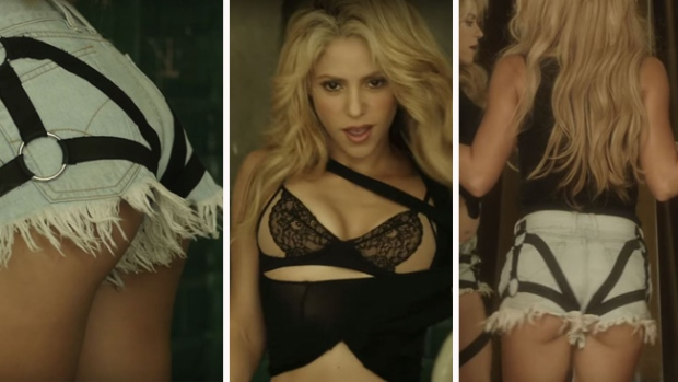 ¡De infarto! Shakira se destapa en nuevo video