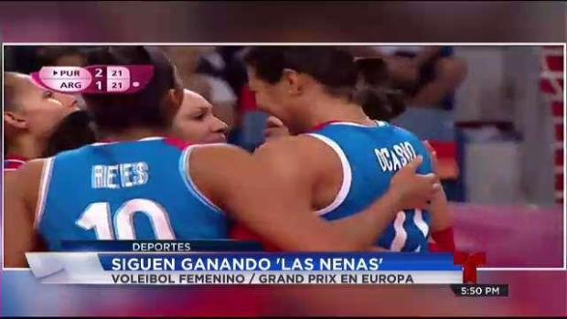 [TLMD - PR] Sigue ganando la Selección de Voleibol