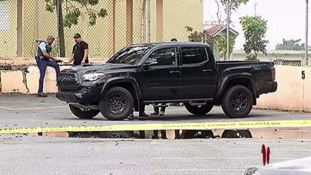[TLMD - PR] Sin identificar baleado dentro de guagua en Bayamón