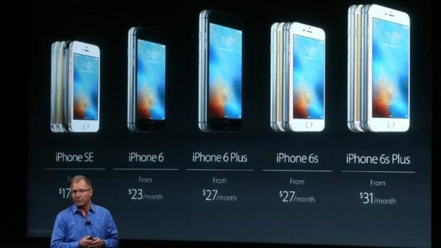 Apple revela nuevos productos más baratos y pequeños